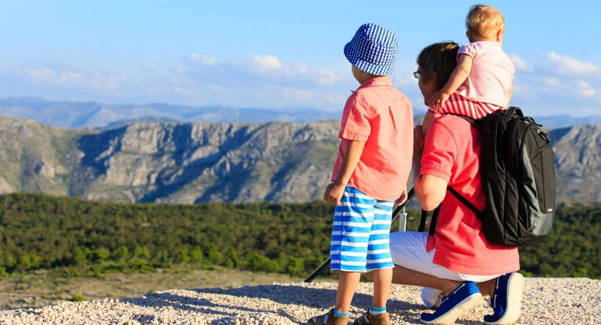 family holiday packages with kids on mountains vacation