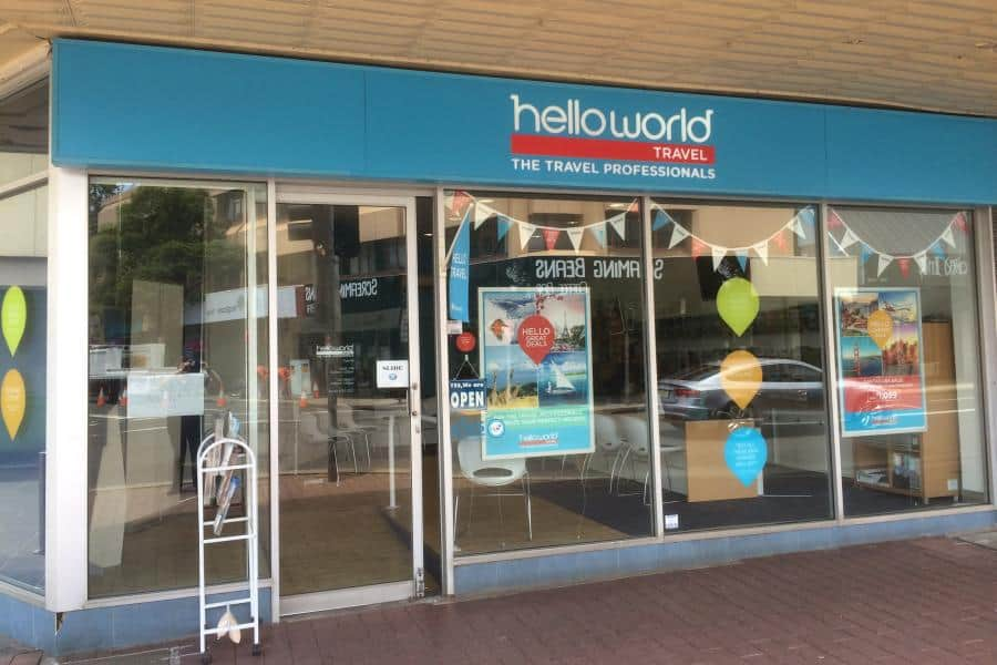 Helloworld Travel Penrith office