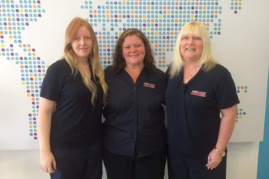 Helloworld Travel Penrith team