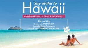 Hawaii ocean cruise package holiday